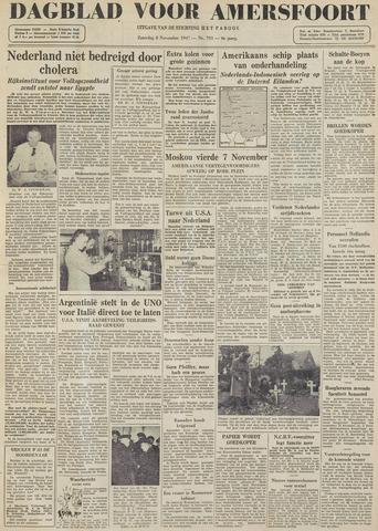 Dagblad voor Amersfoort 1947-11-08