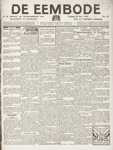 De Eembode 1927-11-18