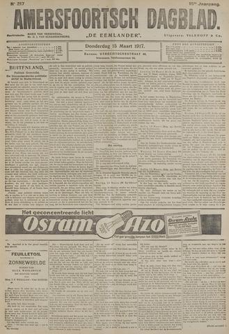 Amersfoortsch Dagblad / De Eemlander 1917-03-15