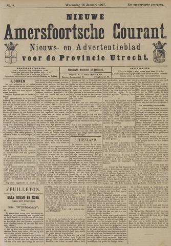 Nieuwe Amersfoortsche Courant 1907-01-16