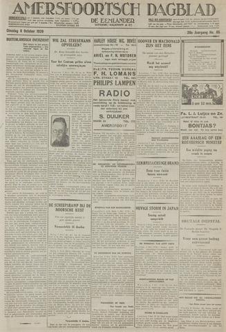 Amersfoortsch Dagblad / De Eemlander 1929-10-08
