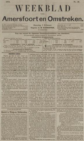 Weekblad voor Amersfoort en Omstreken 1873-02-01