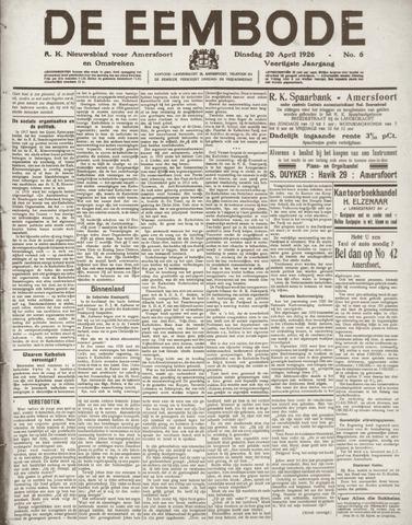 De Eembode 1926-04-20