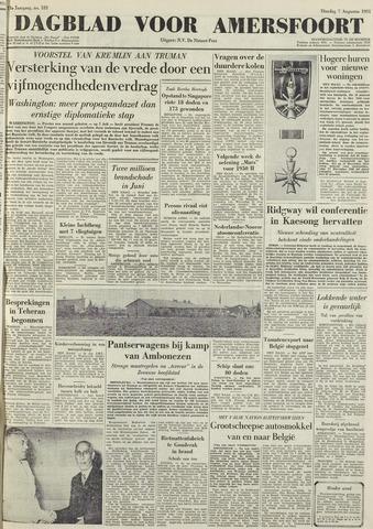 Dagblad voor Amersfoort 1951-08-07