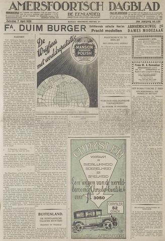 Amersfoortsch Dagblad / De Eemlander 1928-04-07