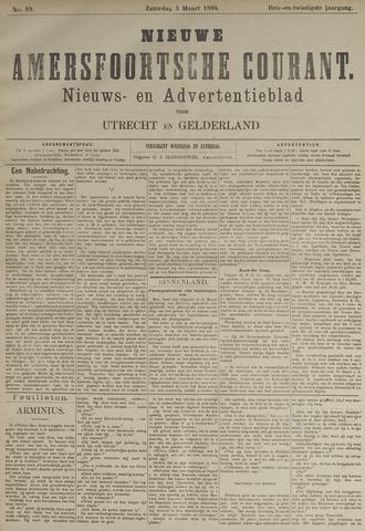 Nieuwe Amersfoortsche Courant 1894-03-03