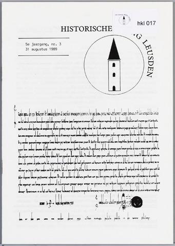 Historische Kring Leusden 1989-08-31
