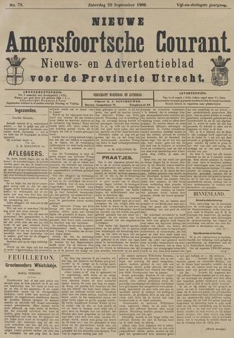 Nieuwe Amersfoortsche Courant 1906-09-29