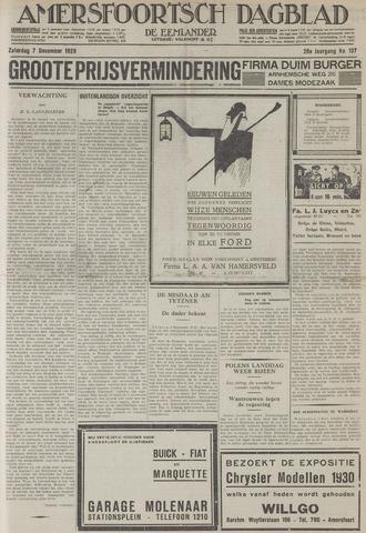 Amersfoortsch Dagblad / De Eemlander 1929-12-07