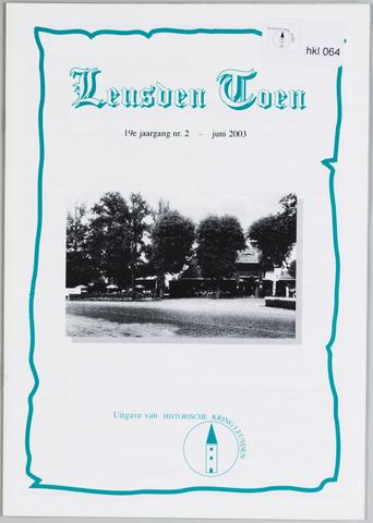Historische Kring Leusden 2003-06-01