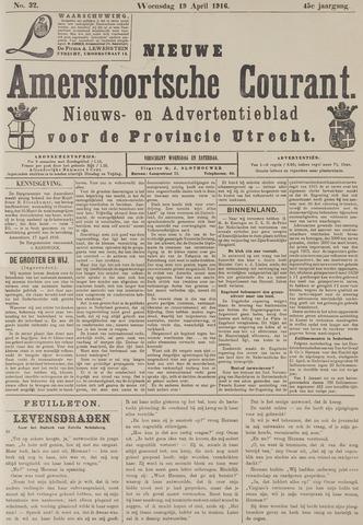 Nieuwe Amersfoortsche Courant 1916-04-19