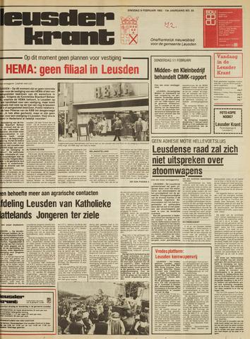 Leusder Krant 1982-02-09