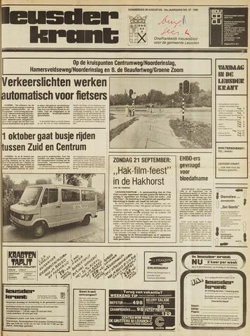 Leusder Krant 1980-08-28