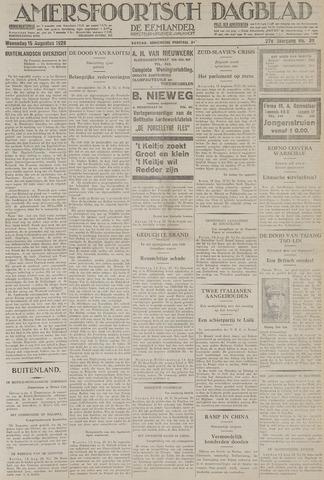 Amersfoortsch Dagblad / De Eemlander 1928-08-15