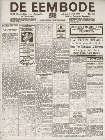 De Eembode 1924-07-18