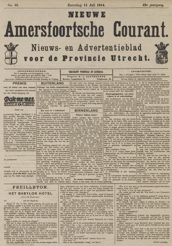 Nieuwe Amersfoortsche Courant 1914-07-11