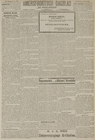 Amersfoortsch Dagblad / De Eemlander 1920-04-01