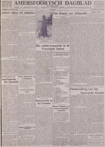 Amersfoortsch Dagblad / De Eemlander 1942-01-28
