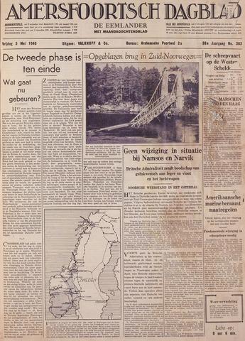 Amersfoortsch Dagblad / De Eemlander 1940-05-03