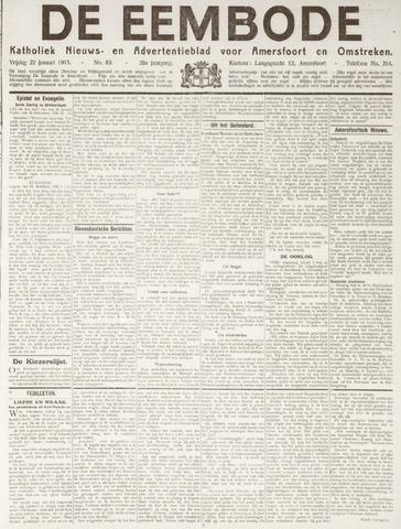 De Eembode 1915-01-22