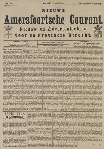 Nieuwe Amersfoortsche Courant 1905-07-26