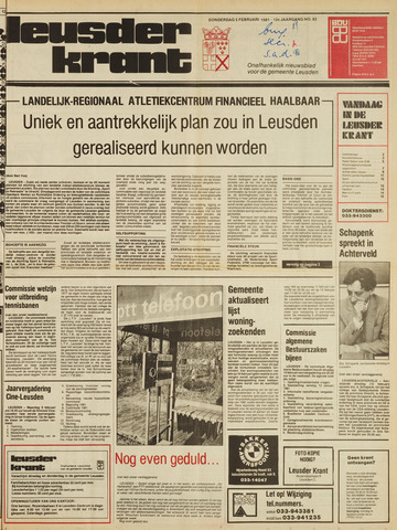 Leusder Krant 1981-02-05