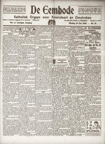 De Eembode 1930-10-28
