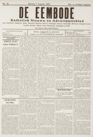De Eembode 1907-08-03