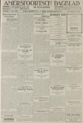 Amersfoortsch Dagblad / De Eemlander 1931-06-03