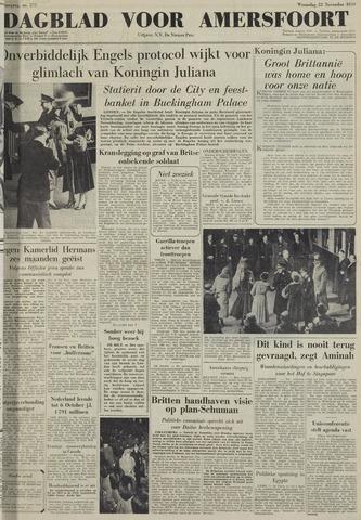 Dagblad voor Amersfoort 1950-11-22
