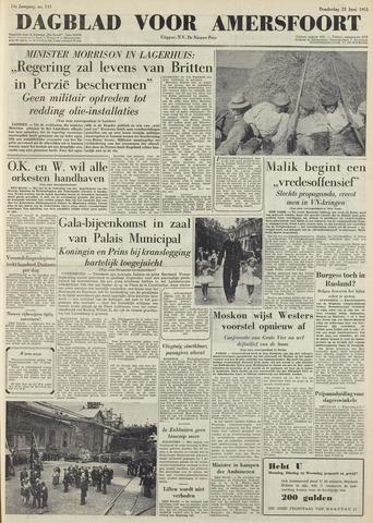 Dagblad voor Amersfoort 1951-06-21