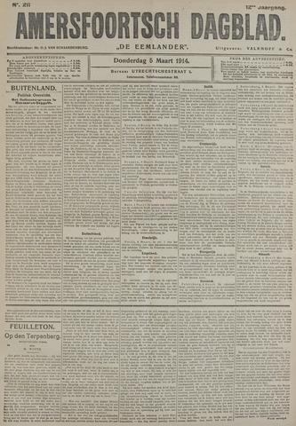 Amersfoortsch Dagblad / De Eemlander 1914-03-05