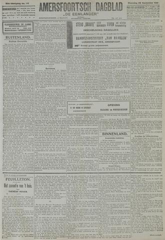 Amersfoortsch Dagblad / De Eemlander 1921-09-26