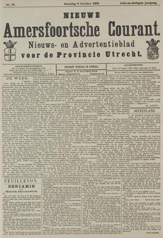 Nieuwe Amersfoortsche Courant 1909-10-09