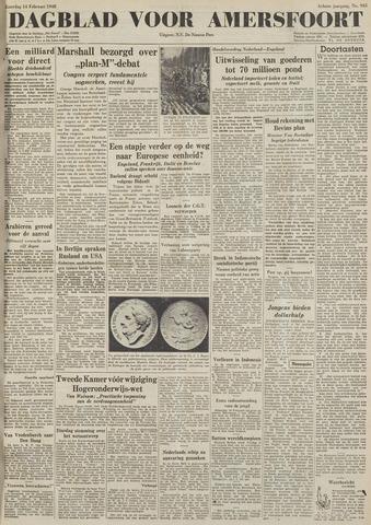 Dagblad voor Amersfoort 1948-02-14