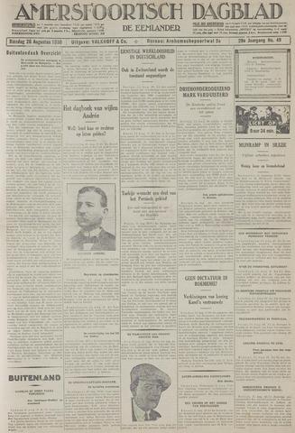Amersfoortsch Dagblad / De Eemlander 1930-08-26