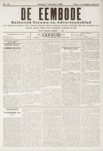 De Eembode 1908-11-07