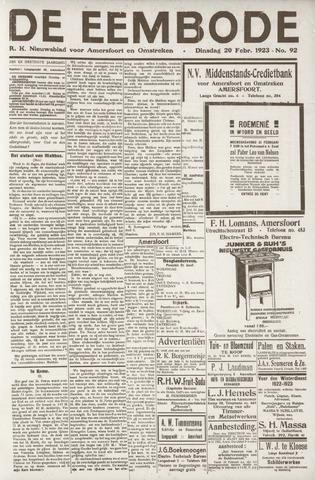 De Eembode 1923-02-20