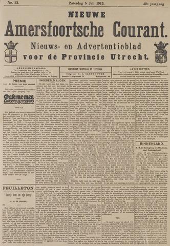 Nieuwe Amersfoortsche Courant 1913-07-05