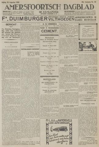 Amersfoortsch Dagblad / De Eemlander 1929-08-30