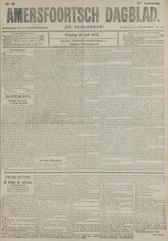 Amersfoortsch Dagblad / De Eemlander 1913-07-18