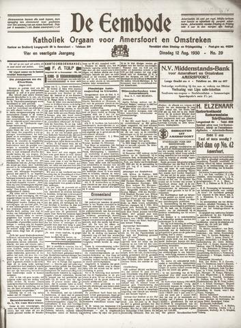 De Eembode 1930-08-12
