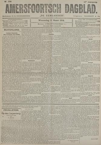 Amersfoortsch Dagblad / De Eemlander 1914-03-11