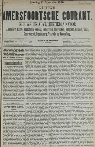 Nieuwe Amersfoortsche Courant 1880-11-13