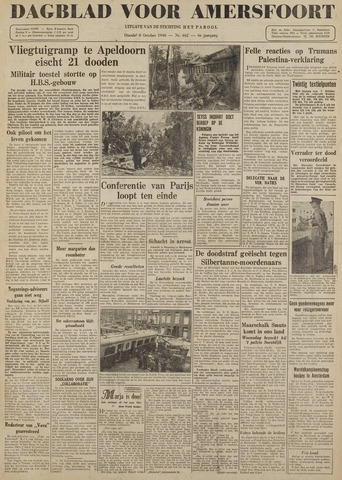 Dagblad voor Amersfoort 1946-10-08