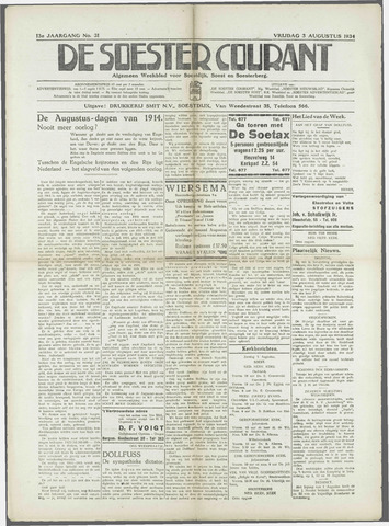 Soester Courant 1934-08-03