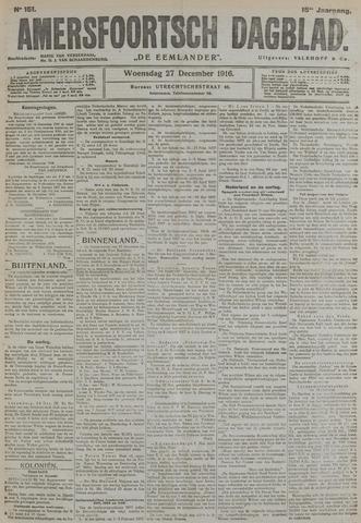 Amersfoortsch Dagblad / De Eemlander 1916-12-27