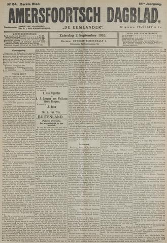 Amersfoortsch Dagblad / De Eemlander 1916-09-02
