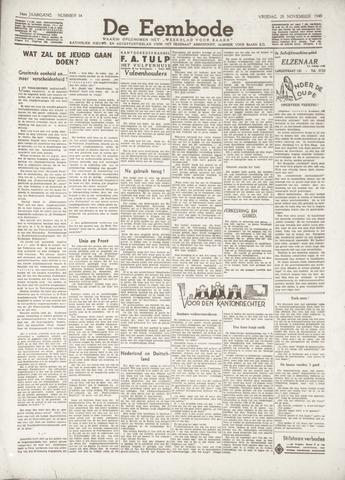 De Eembode 1940-11-29