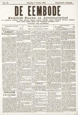 De Eembode 1905-10-07